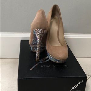 Brian Atwood Crystal shoes